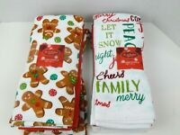 St. Nicholas Square 5 Pack Kitchen Dish Towels Christmas Holiday Choice