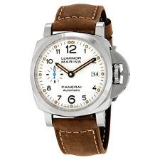 Panerai Luminor Marina 1950 White Dial Automatic Mens Watch White