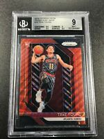 TRAE YOUNG 2018 PANINI PRIZM #78 RUBY WAVE REFRACTOR ROOKIE BGS 9 W/2 9.5 SUBS