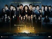The Twilight Saga movie poster - 12 x 16 - Edward Pattinson, Kristen Stewart