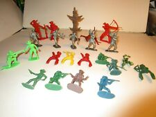 Cowboys and Indians and Mountain men Toy Figures 20 Pieces $6Sh