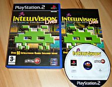 PS2 PlayStation 2 Pal Game INTELLIVISION LIVES: THE HISTORY OF VIDEO GAMING