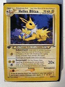 Pokémon Helles Blitza 48/105 - Neo Destiny 1.Edition - Deutsch - NM