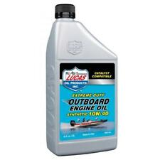 LUCAS OIL 10W40 Fully Synthetic Outboard Engine Oil - 946ml - 10662A