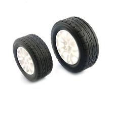 4pcs 38*13*2.5mm  Car Tire 1:20 Toy Wheels Model Robot DIY RC Accessories WF