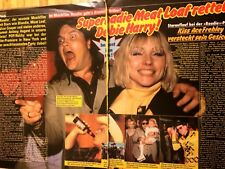 Blondie,Two Page Vintage Clipping, German Magazine