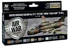 Vallejo 71.604 - Colour Kit, Su-7/17 Fitter, 8 x 17 ML (14,56 €/ 100ml) - New