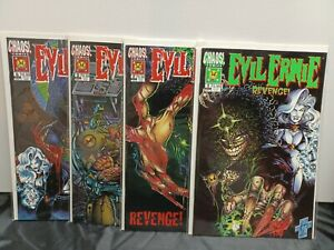 Chaos! Comics Evil Ernie Revenge #1-4 Complete Set NM 1995