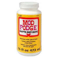 Mod Podge CS 11302 Original 16 Ounce Glue Matte Finish