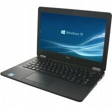 """Dell Latitude E7270 12.5"""" IPS FHD Core i7-6600U 256GB SSD 8GB RAM Win 10"""