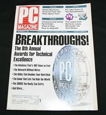 PC Magazine December 31 1991 Vol 10 #22 8th Annual Awards for Technical Excellen