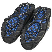 Schuhschneeketten Schuhspikes Eiskrallen Schuhkrallen Steigeisen Überschuhe P6F0