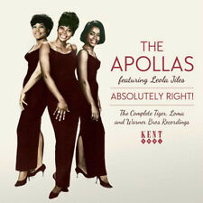 "THE APOLLAS  ""THE COMPLETE TIGER, LOMA & WARNER BROS. RECORDINGS"" 25 TRACKS"