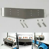Metall Sun Visor Plate Für LESU Tamiya 1/14 RC King Hauler Tractor Truck DIY Car