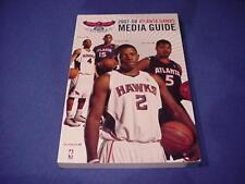 2007-2008 Atlanta Hawks NBA Basketball Media Guide - Joe Johnson