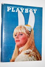 Playboy November 1966 Very Fine (7.5 - 9.0) Playmate Lisa Baker, Vargas