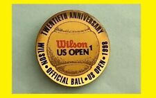 1988 WILSON -Off.Ball of the US OPEN ,🎾 20th Anniversary Tennis Collectible Pin