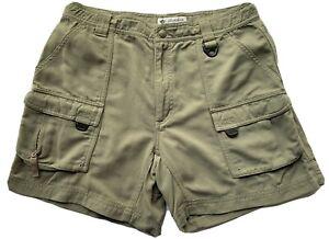Columbia GRT shorts Sz M/ INS 6 Women's Omni-Dry