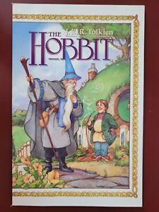 JRR TOLKIEN THE HOBBIT Prestige Format Graphic Novel Book 1 ECLIPSE BOOKS 1989