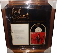 Rod Stewart SIGNED AUTOGRAPH Contract 1983 AFTAL UACC RD