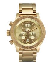 Nixon Men's The 42-20 Chrono Gold Stainless Steel 12k Watch 5508