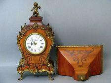 Kaminuhr con supporto da parete movimento dell'orologio Franz Hermle & Söhne quadrante Lauris 50er