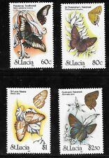 St. Lucia (1991) - Scott # 981 - 984,   MNH