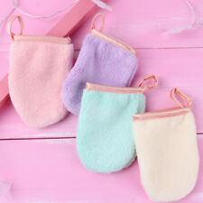facial towel makeup remove glove portable reusable clean cloth remover tool CN