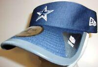 Dallas Cowboys NFL Football Authentic New Era Visor Hat Cap adjustable men OSFA