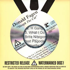 DONALD FAGEN Morph The Cat UK 9-tk numbered/watermarked promo test CD sealed