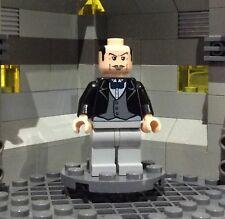 Lego Rare Original Batman Minifigure - Arther the Butler - from 7783 Batcave