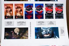 Custom stickers LEGO 10232 Palace Cinema Theater Modular Batman Superman
