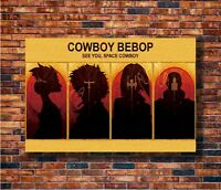 T1875 30 24x36 Silk Poster Cowboy Bebop - Spike Jet Fight Japan Anime Art Print
