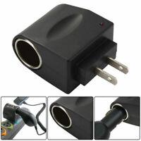 110V-240V AC Plug To 12V DC Socket Adapter Car Cigarette Lighter Converter US