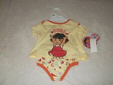 NEW  DORA THE EXPLORER OUTFIT INFANT GIRLS 6-9  MO'S...........SWEET
