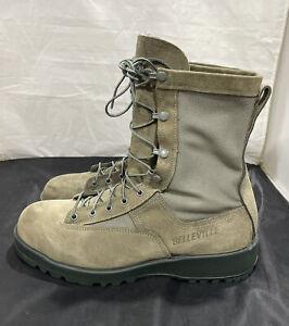 Belleville 690V Waterproof Flight Sage Gore-Tex Leather Combat Boots Mens 9 R