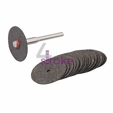 18Pce Rotary Tool Metal Cutting Disc Set - 22mm Dia