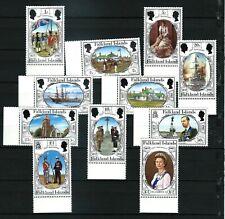 Falkland Is - British Occupation Sesquicentennial set 1983 MNH - Sc#360-370