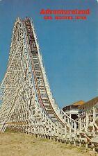 IA 1970s Tornado Roller Coaster Adventureland Amusement Park in Des Moines, Iowa