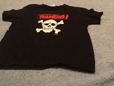 Rancid Skull Shirt Youth Medium Black