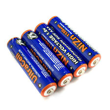 4 pcs 1150mWh AAA NiZn 1.6V Volt Rechargeable Battery 3A KR03 Ultracell Blue CAN