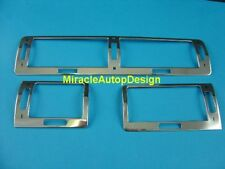 Stainless Steel Chrome A/C Air Vent Frame Set For 1995-2001 LHD BMW E38 7-Series