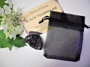 Black Tourmaline/Schorl Rough - Healing Mineral/Crystal Chakra Reiki Natural Raw