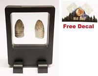 Epic Peak (2) Civil War Bullet with Relic Case - Civil War Collectible