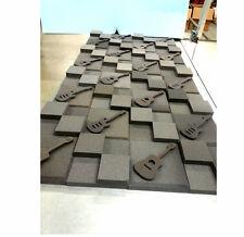"3"" Thick Studio Acoustic Soundproofing Foam Tiles 48""x 96"