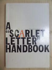 Scarlet Letter Handbook by Gross, Seymour L
