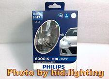 GENUINE Philips H7 +200% bulb light LED 6000K Pure White Headlight lamp 12V 25W
