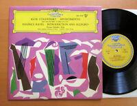 DG 17135 Stravinsky Divertimento Ravel Introduction & Allegro Zabaleta Harp NM