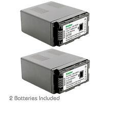 2x Kastar Battery for Panasonic VW-VBG6 HDC-SD1 HDC-SD3 HDC-SD5 HDC-SD7 HDC-SD9