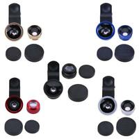3 in 1 Fish Eye+ Wide Angle+ Macro Camera Lens Kit for Phone